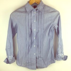 Gap Long Sleeve Button Down Womens size 2